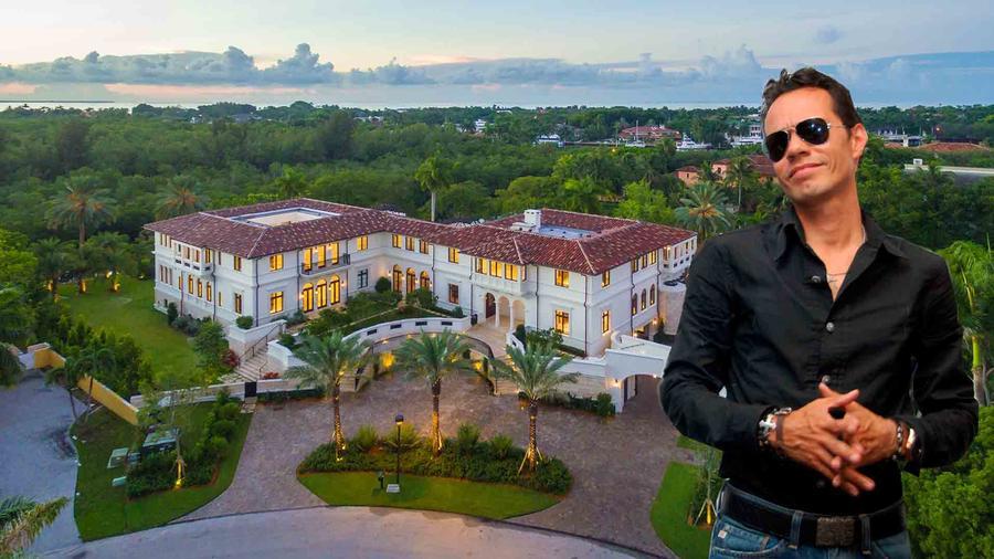 Marc Anthony's mansión