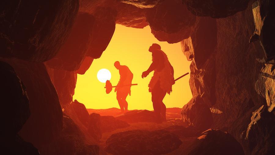 Hombres de las cavernas