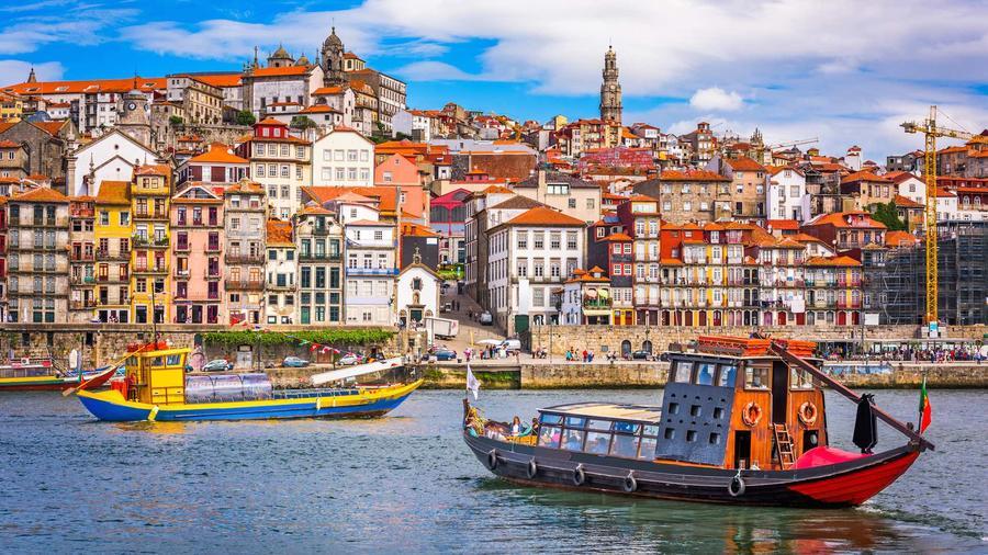 Ciudad de Oporto en Portugal