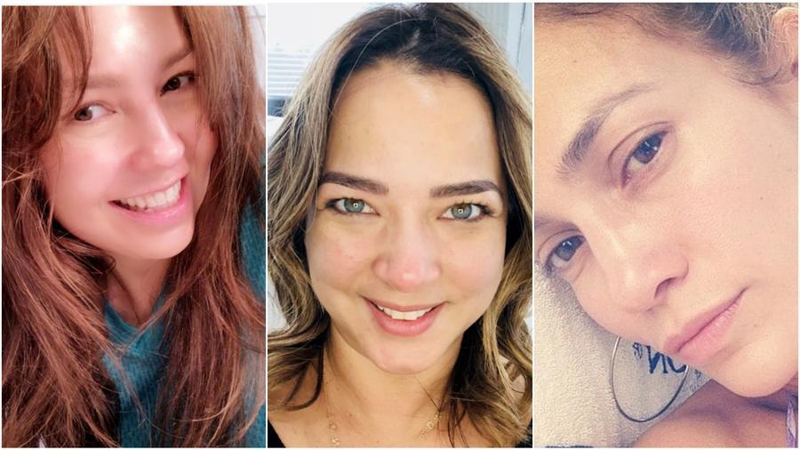 Thalia, Adamari López y Jennifer Lopez