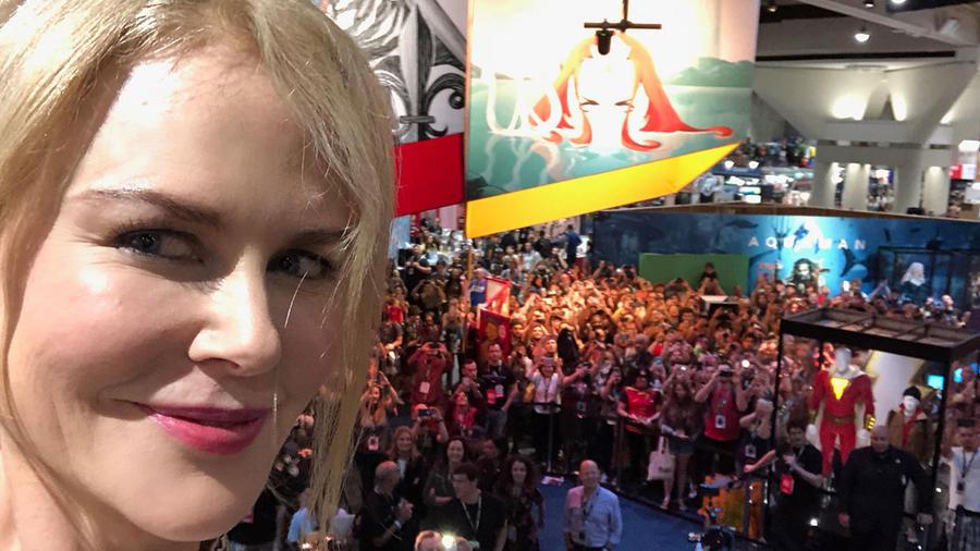 Nicole Kidman en la Comic-Con 2018