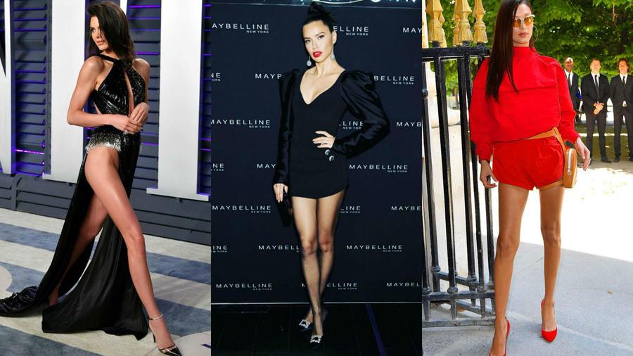 Kendall Jenner, Adriana Lima y Bella Hadid