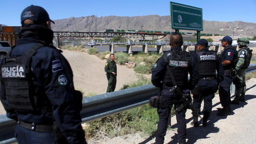 Guardia Nacional mexicana.