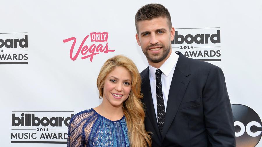 Shakira y Gerard Piqué en Billboard Music Awards 2014