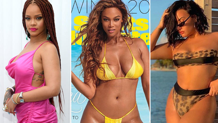Collage famosas curvy