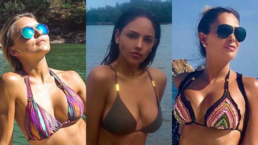 Angelique Boyer, Eiza González y Ninel Conde