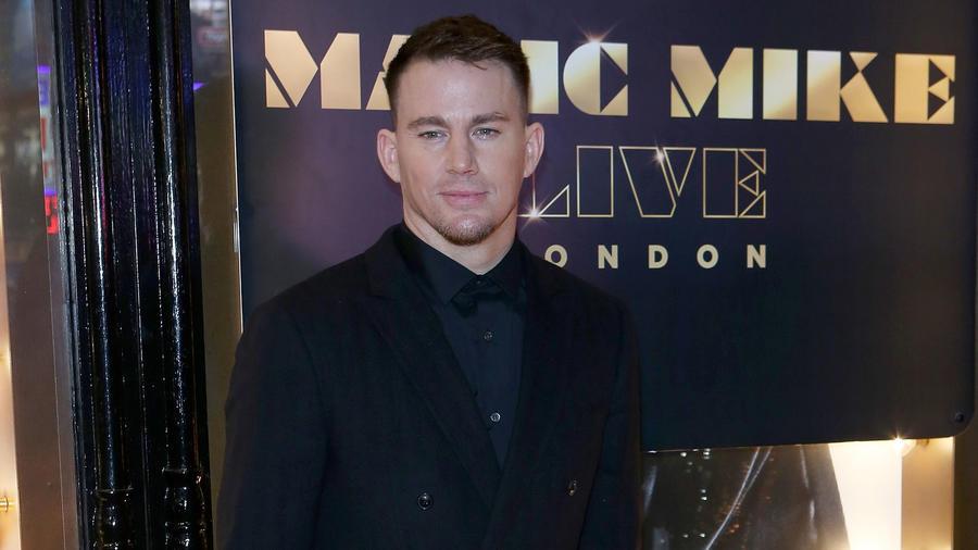 """Channing Tatum en la apertura de """"Magic Mike Live"""" en Londres, Inglaterra, 2018."""