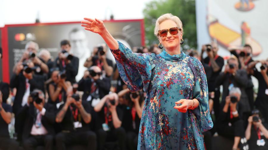 Meryl Streep en el Venice Film Festival 2019
