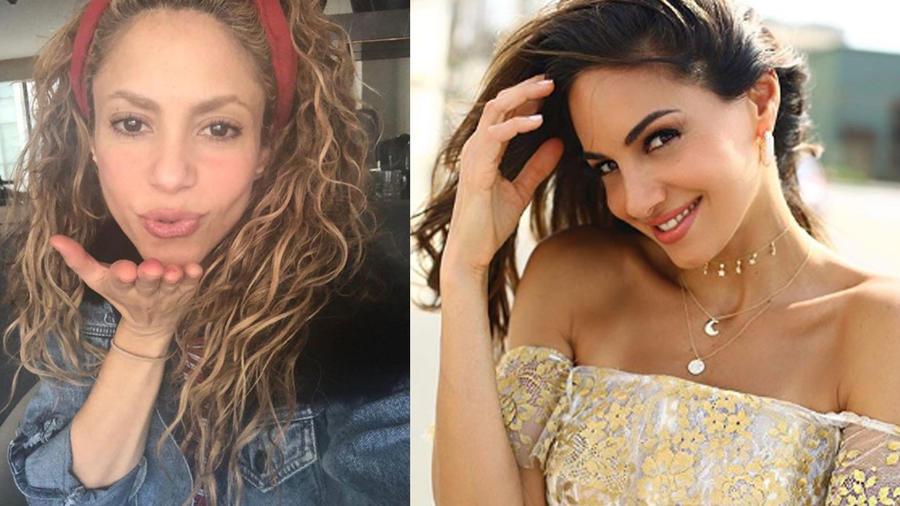 Shakira y su prima Valerie Domínguez