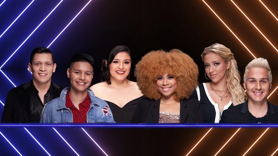 Participantes de El Comeback Stage de La Voz US 2