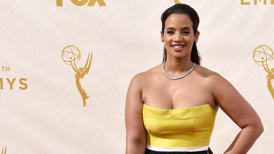 Dascha Polanco en los Emmys 2015