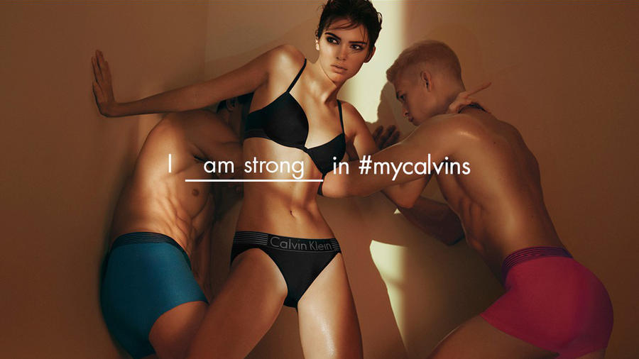 Kendall Jenner is the Face of Calvin Klein Underwear 2016 Campaign