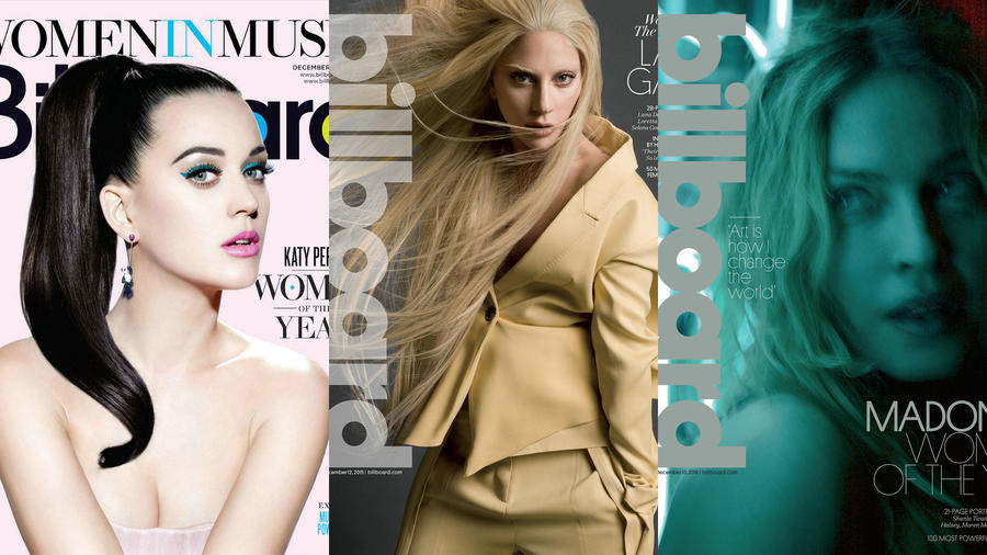 KAty Perry, Lady Gaga & Madonna