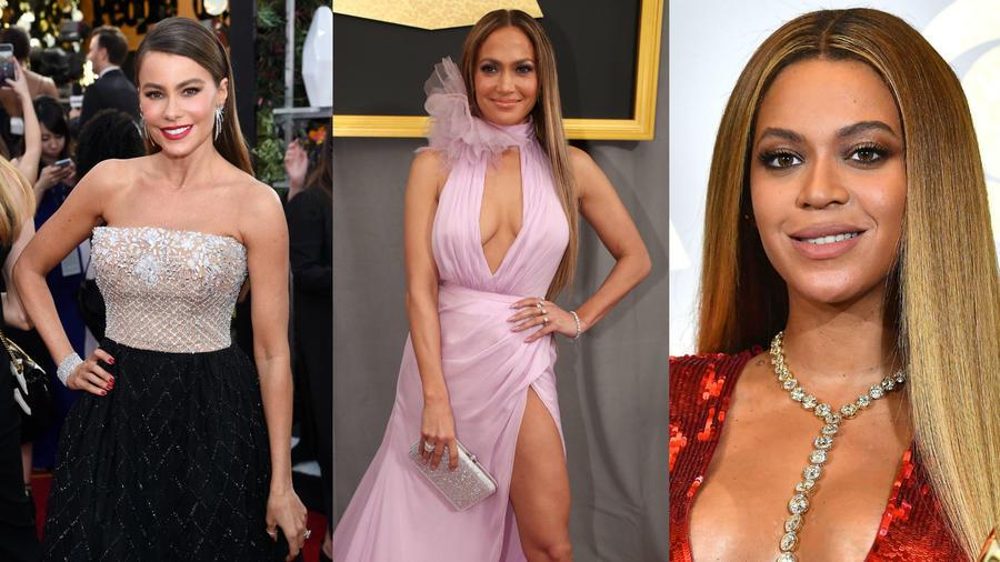Sofía Vergara, Jennifer Lopez y Beyoncé
