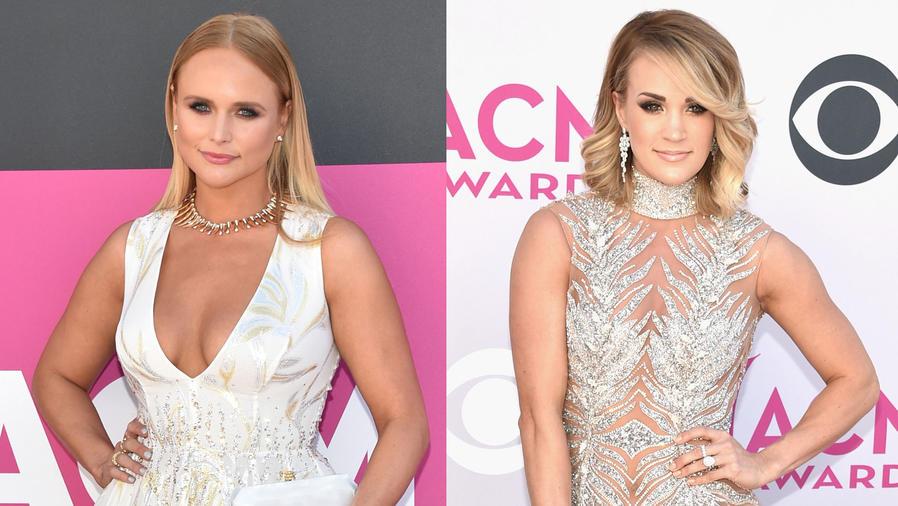 Miranda Lambaert y Carrie Underwood en los Academy Of Country Music Awards 2017