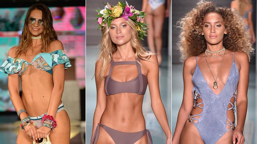 Modelos en el Miami Swim Week 2017