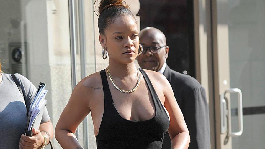 Rihanna en Nueva York