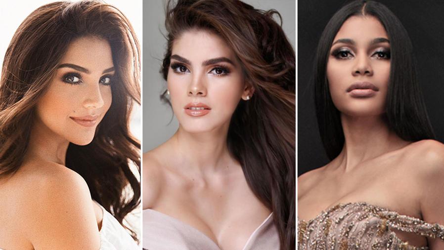 Collage latinas Miss Universo