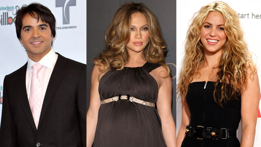 Así lucían los famosos en 2008