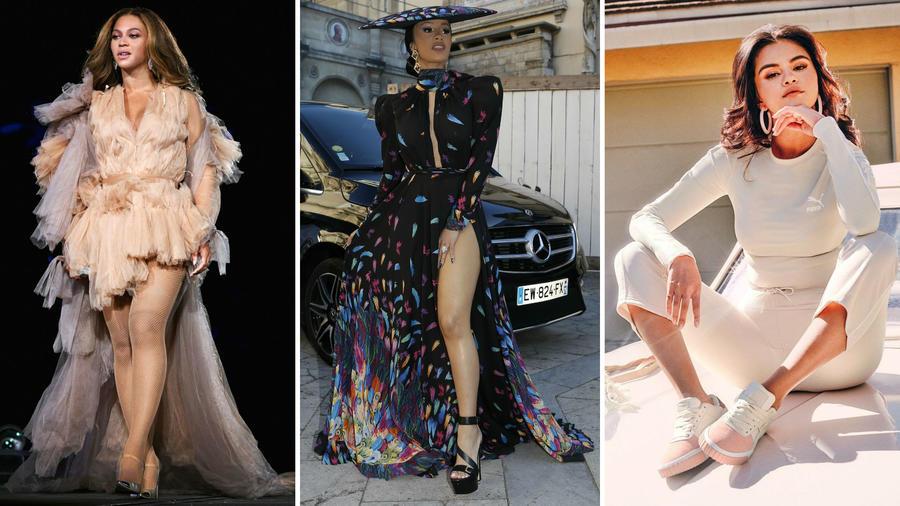 Beyoncé, Cardi B y Selena Gomez