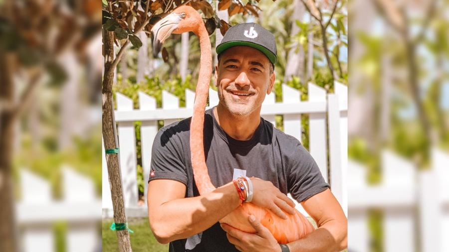 Jorge Bernal en las Bahamas