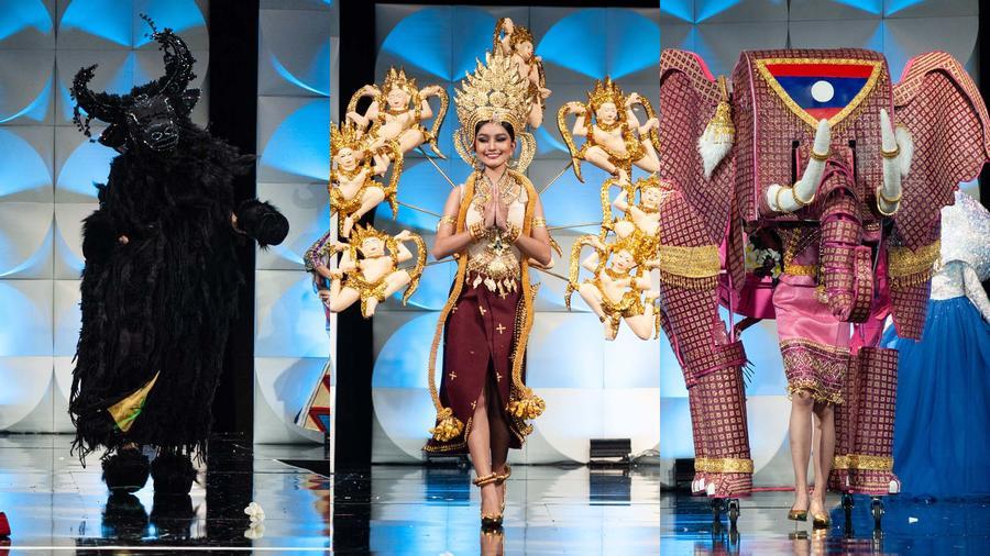 Los trajes típicos más exóticos de Miss Universo 2019