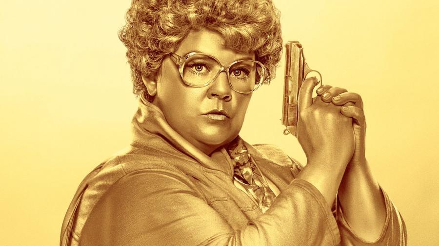 """Póster de la película """"Spy""""."""