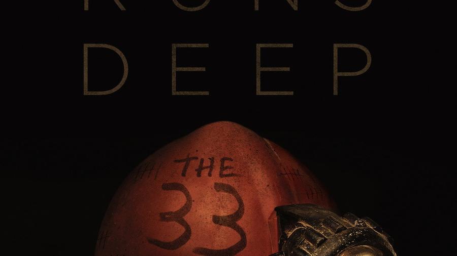 "Póster de la película ""The 33""."