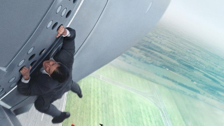 "Póster de la película ""Mission: Impossible - Rogue Nation""."