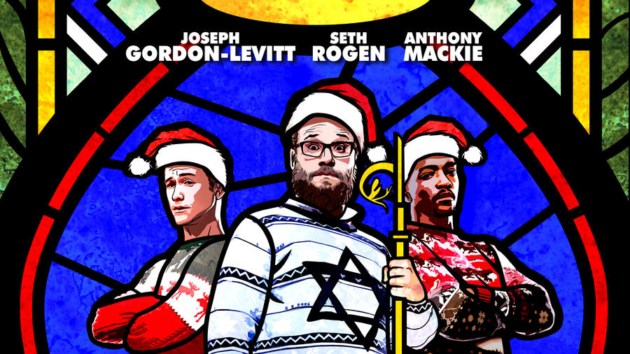 "Póster de la película ""The Night Before""."