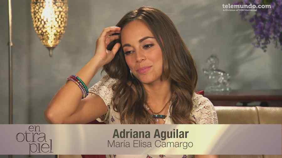 Maria Elisa encarna a Adriana en la novela En Otra Piel