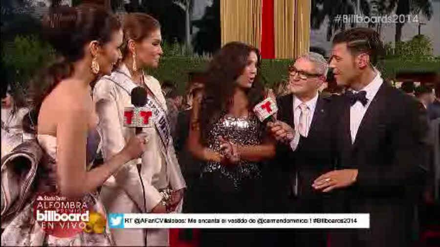 Entrevista a Gaby Espino en los Premios Billboard 2014