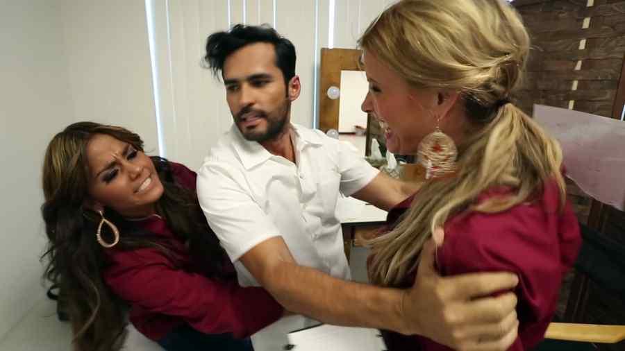 Fabian Ríos, Maripily Rivera y Sissi Fleitas en Top Chef Estrellas
