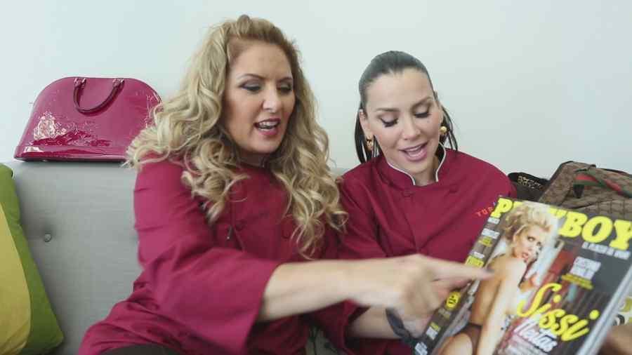 Judith Grace y Gabriela Vergara en Top Chef Estrellas