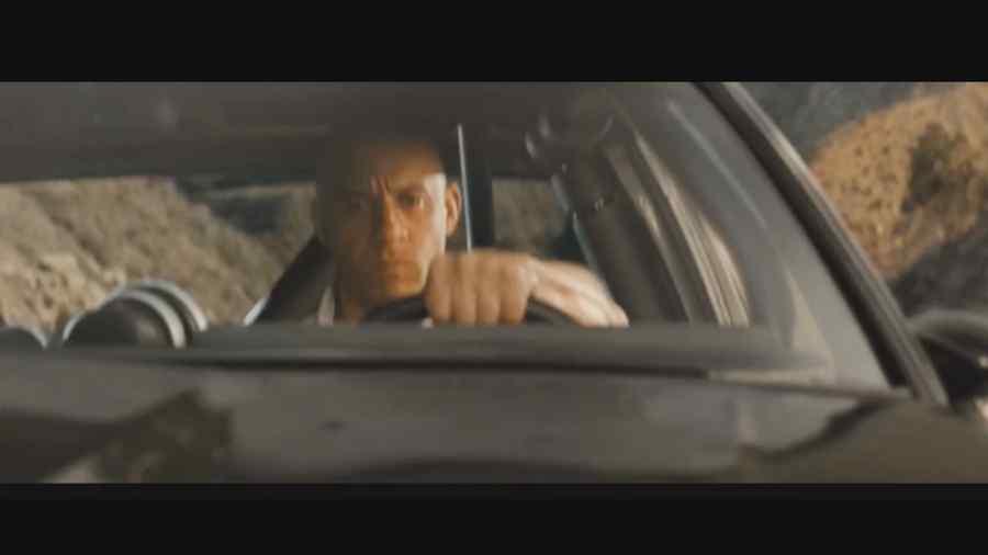 """Vin Diesel en """"Fast & Furious""""."""