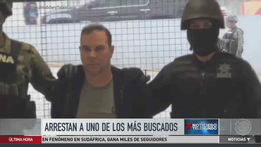 México arresta a supuesto traficante del Cártel de Sinaloa (VIDEO)