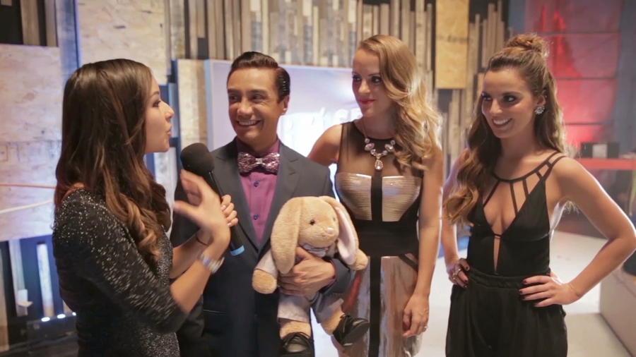 Luis Magaña, Caeli, Paloma Márquez, Mariana Torres en entrevista para Sí Se Puede