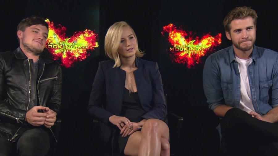 "Latino IQ con los actores de ""Hunger Games"""
