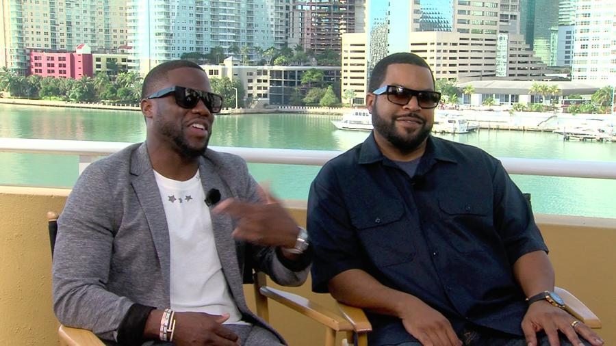 Entrevista con Ice Cube y Kevin Hart