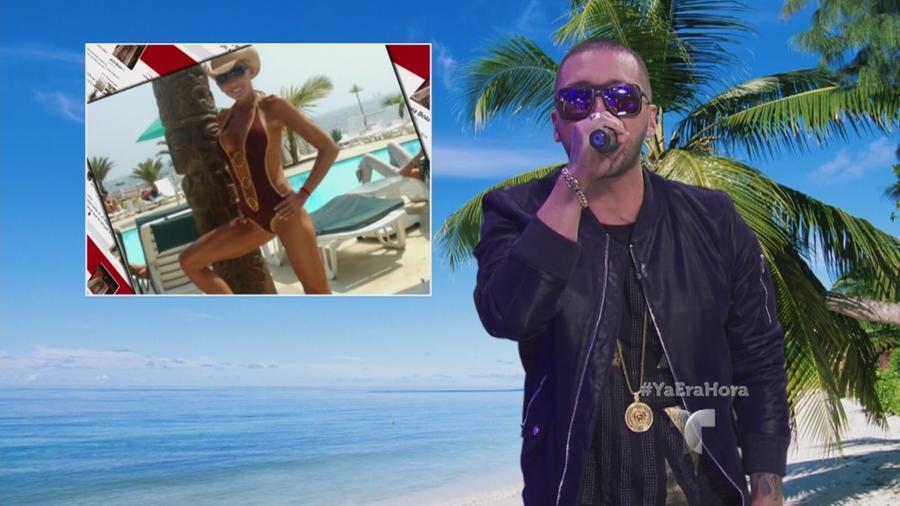 Alexis cantando en Ya Era Hora