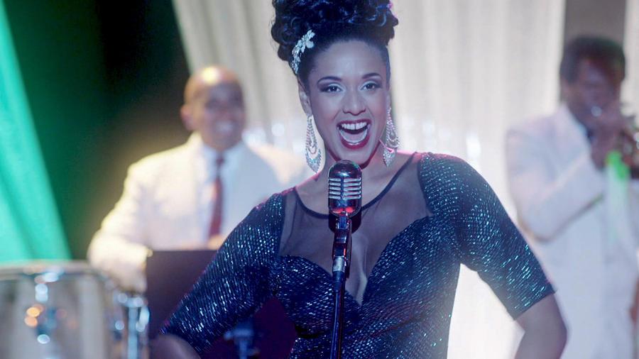 Jeimy Osorio en Celia cantando en Celia