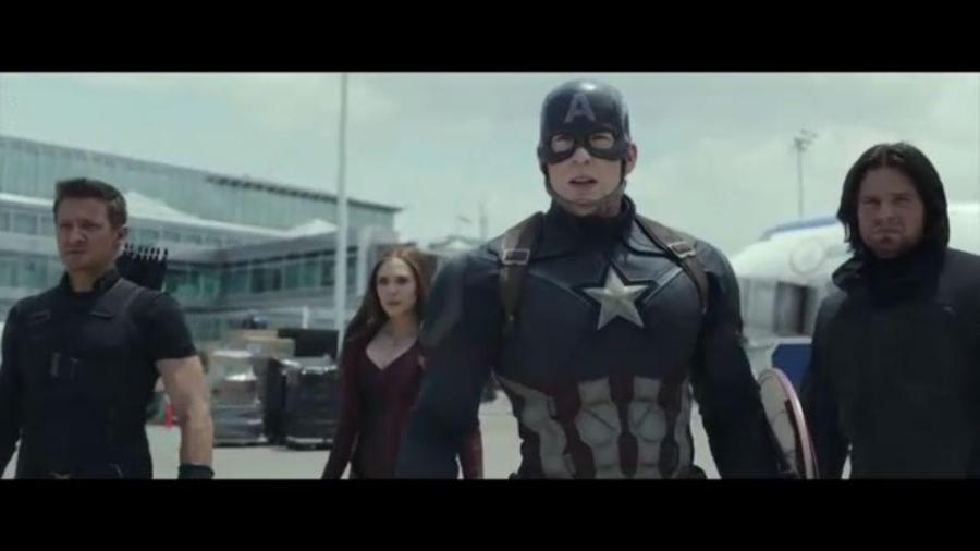 "Tráiler de la película ""Captain America: Civil War"""