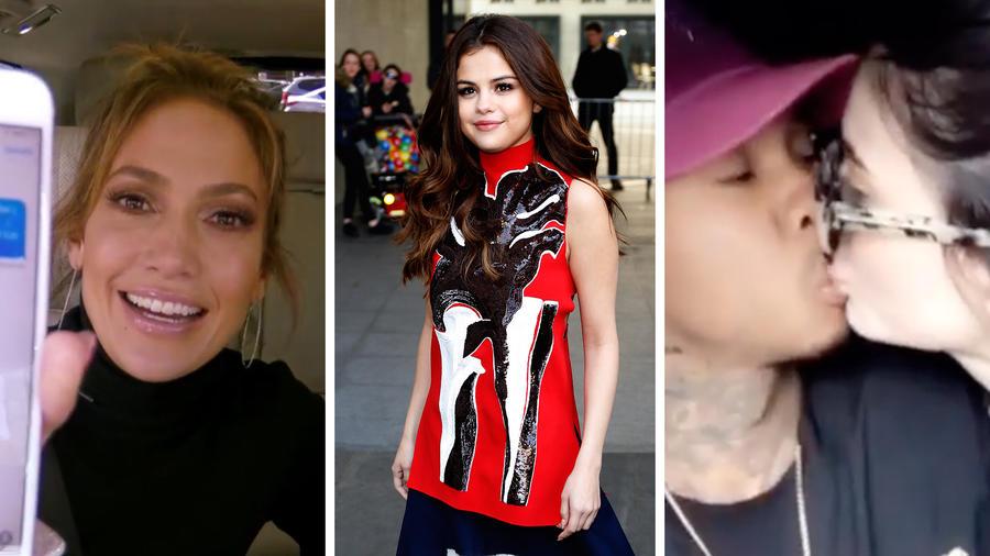 JLo, Selena Gomez, Kylie Jenner