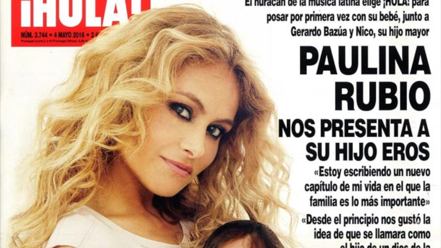 Paulina Rubio y Eros