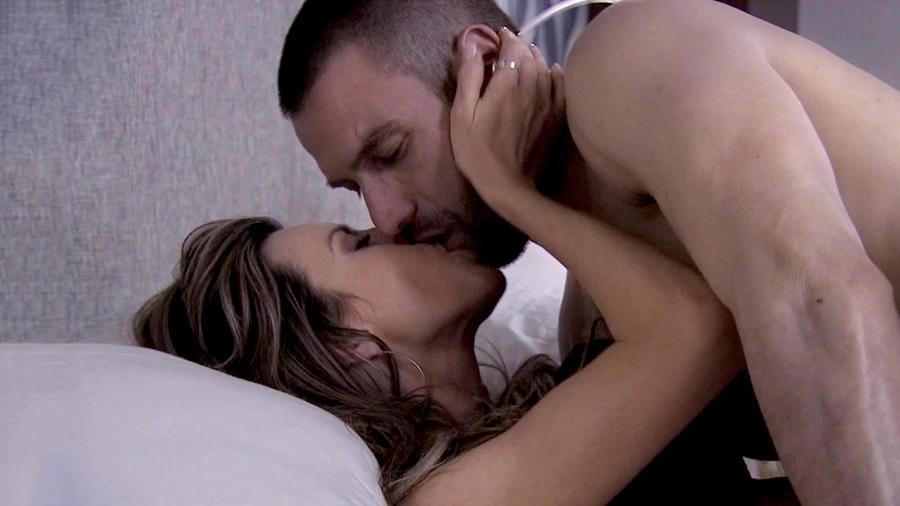 Maritza Rodríguez, Rafael Amaya, besándose, El Señor de los Cielos