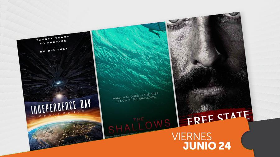 """Independence Day: Resurgence"" y ""The Shallows"": los mejores estrenos de la semana"
