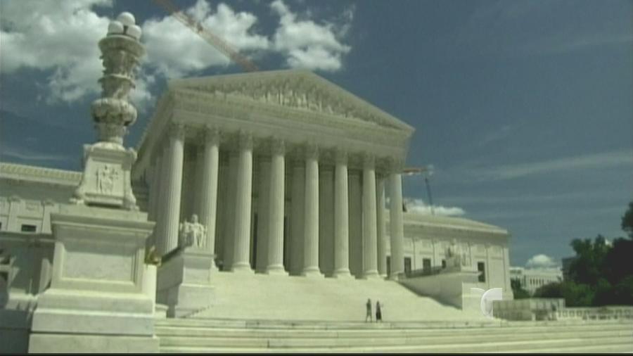 Tribunal Supremo de EEUU, foto de archivo