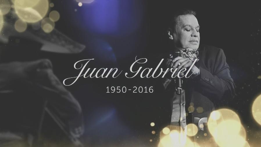 Restos mortales de Juan Gabriel en Los Ángeles