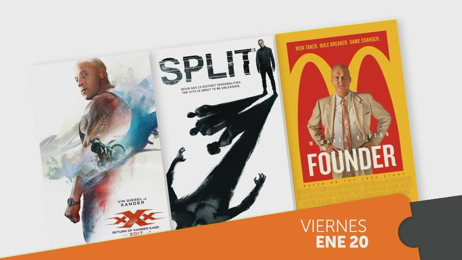 XXX: Return of Xander Cage, Split, The Founder