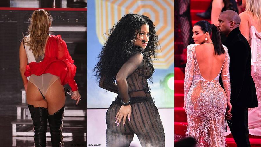 JLo, Kim Kardashian, Nicki Minaj